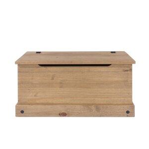 Classic Corona Wooden Blanket Box