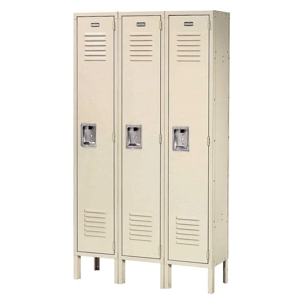 1 Tier 3 Wide School Locker by Nexel1 Tier 3 Wide School Locker by Nexel