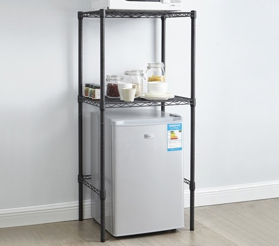 Supreme 52 H x 24 W Adjustable Shelving Unit by Byourbed
