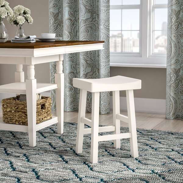 Christensen Solid Wood Bar & Counter Stool By Andover Mills
