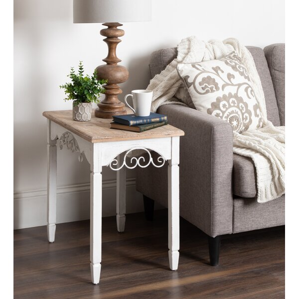 Jedidiah Wood End Table By One Allium Way #2