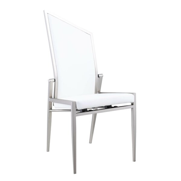 #2 Nia Upholstered Dining Chair (Set Of 2) By Orren Ellis Cool