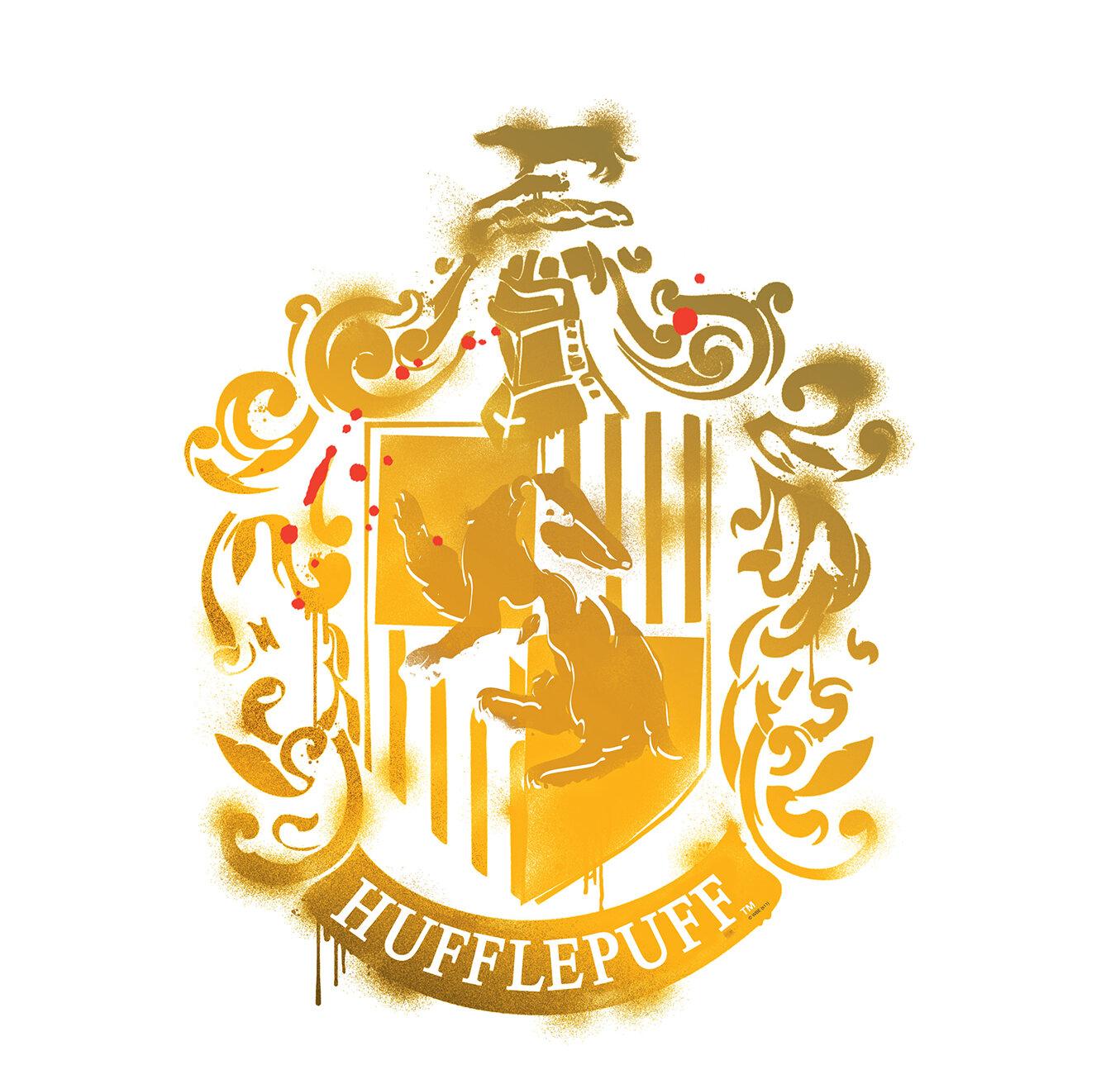 Advanced Graphics Harry Potter 7 Hufflepuff Crest Wall Decal   Wayfair