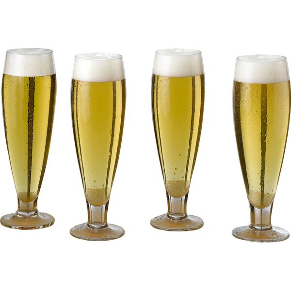 Brewmasters 20 oz. Crystal Pint Glass (Set of 4) by Mikasa