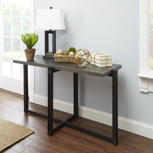 Best Reviews Baran Distressed Console Table By Ivy Bronx