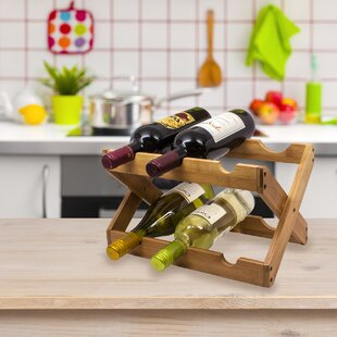 6 Bottle Wine Rack Wayfair