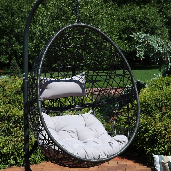 Abernathy Hanging Egg Swing Chair by Brayden Studio