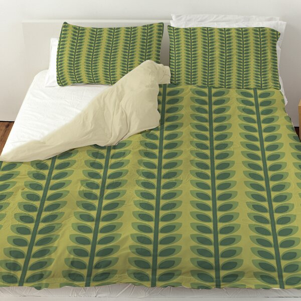 Tropical Breeze Patterns 39 Duvet Cover by Manual Woodworkers & Weavers