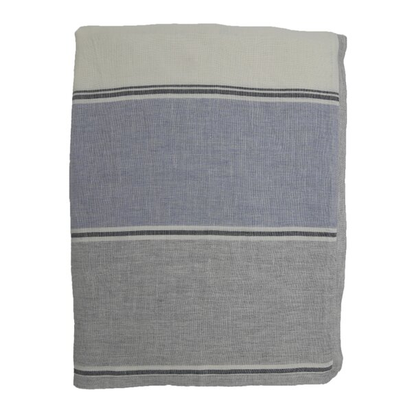 Linen Wool Stripe Single Duvet Cover