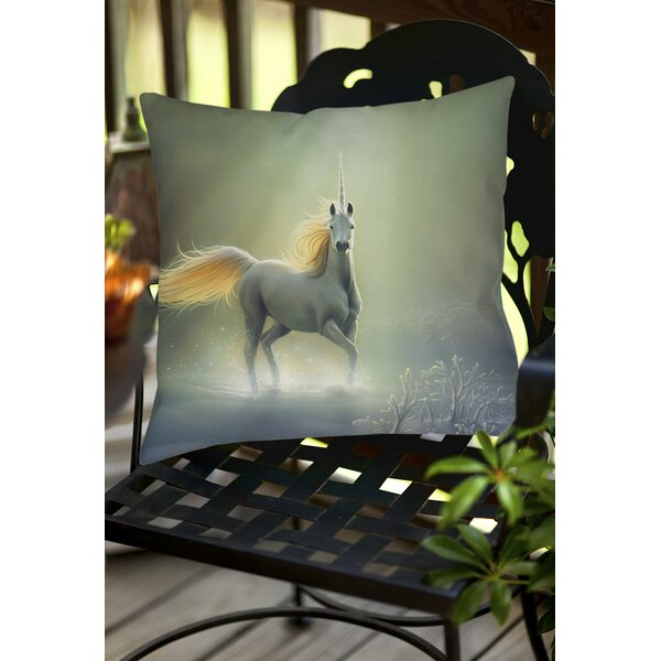 Touch by the Aurora Indoor/Outdoor Throw Pillow by Manual Woodworkers & Weavers