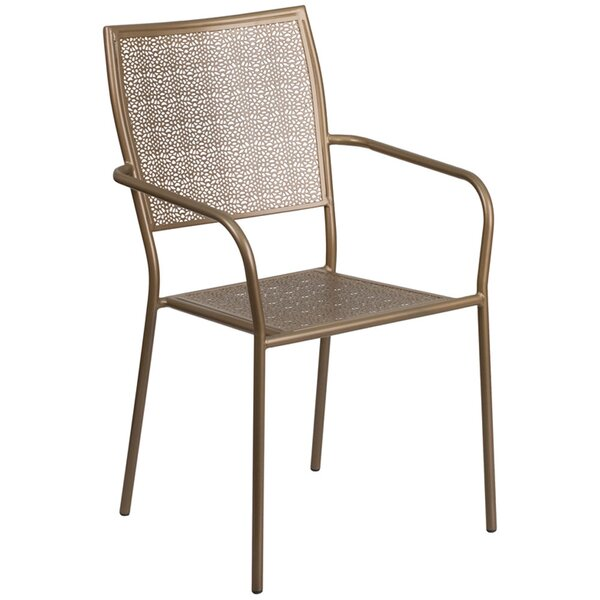 Mccrady Stacking Patio Dining Chair by Red Barrel Studio