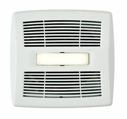 InVent Single-Speed 110 CFM Energy Star Bathroom Fan With LED Light by Broan