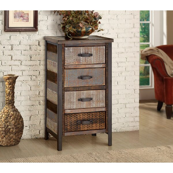 Clayera 4 Drawer Nightstand By Trent Austin Design by Trent Austin Design New Design