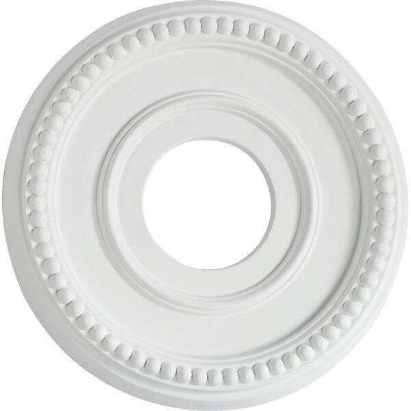 Ceiling Medallion in Studio White by Quorum