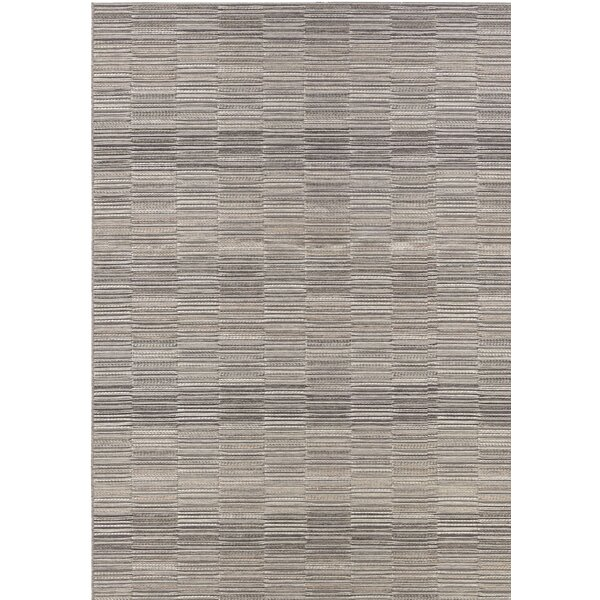 Whitney Gray Indoor/Outdoor Area Rug by Charlton Home