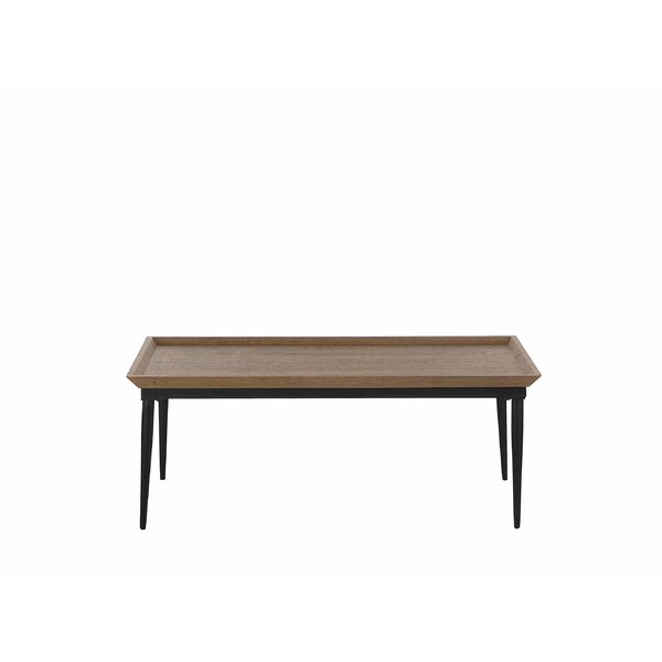 Eton Wood Coffee Table by 17 Stories