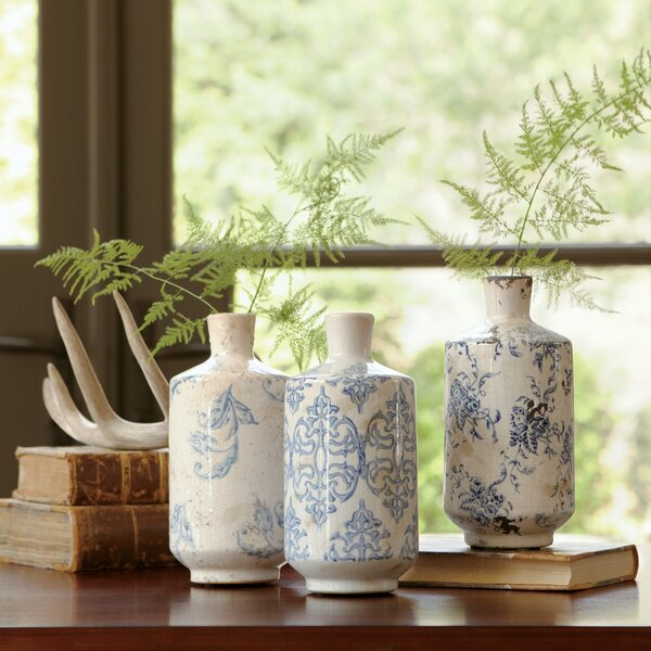 Bluestone Terracotta Vases by Birch Lane™