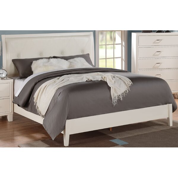 Jerlene Upholstered Standard Bed by Wrought Studio