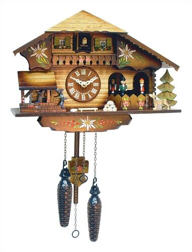 Chalet Cuckoo Clock by Black Forest