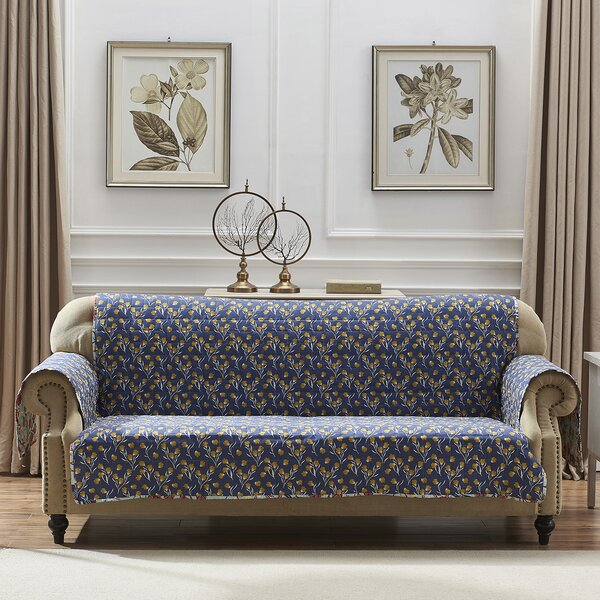 T-Cushion Sofa Slipcover By August Grove
