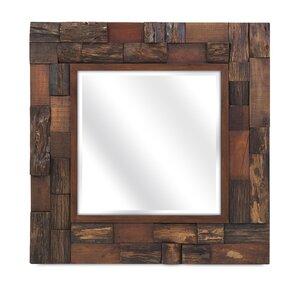 lloyd wood slat mirror - Wood Mirror Frame