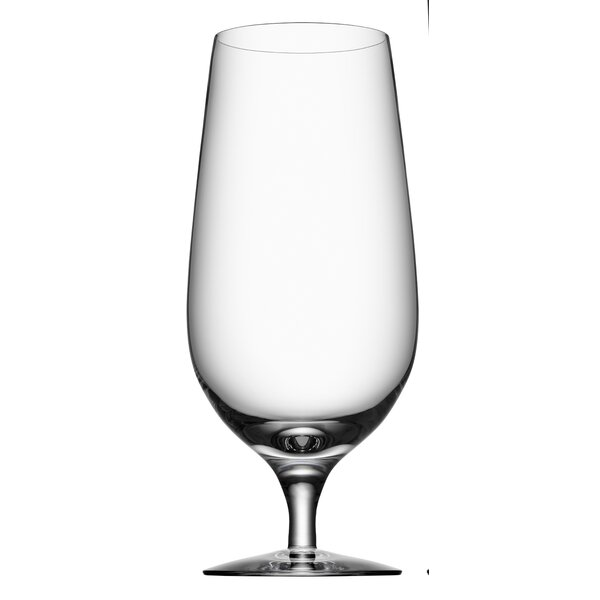 Beer 20 oz. Crystal Pint Glass (Set of 4) by Orrefors