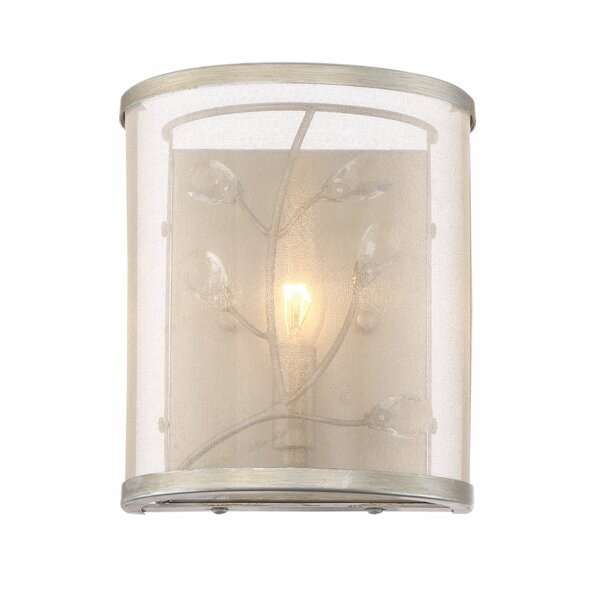 Bloomingdale 1-Light Flush Mount by Ophelia & Co.