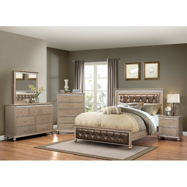 Almerton Platform Configurable Bedroom Set by Willa Arlo Interiors