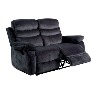 Magoon Traditional Upholstered Reclining Loveseat