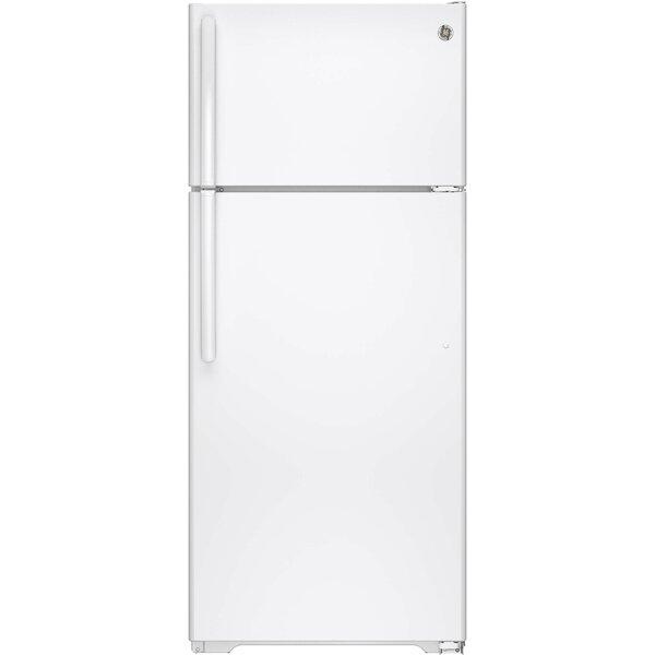 17.5 cu. ft. Energy Star® Top Freezer Refrigerator by GE Appliances