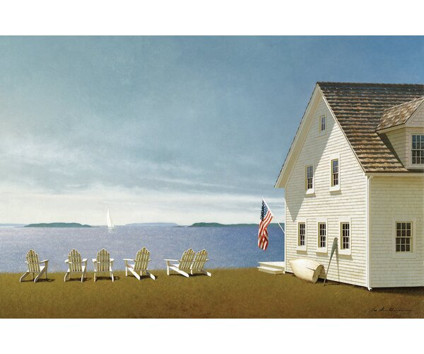 Summer Retreat Photographic Print on Wrapped Canvas by Alcott Hill