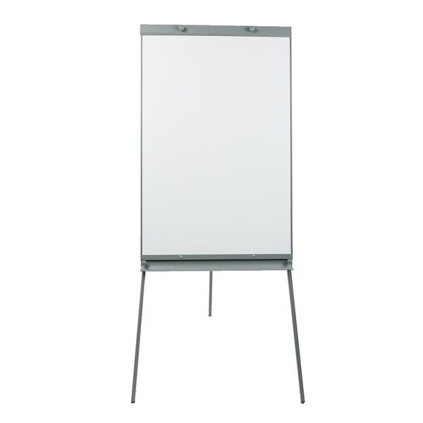 Dry Erase Easel Magnetic Free-Standing Whiteboard, 25.5 x 76.5 by Mind Reader
