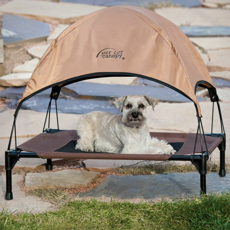 Pet Cot Canopy Bed Accessory & Ku0026H Manufacturing Pet Cot Canopy Bed Accessory u0026 Reviews | Wayfair