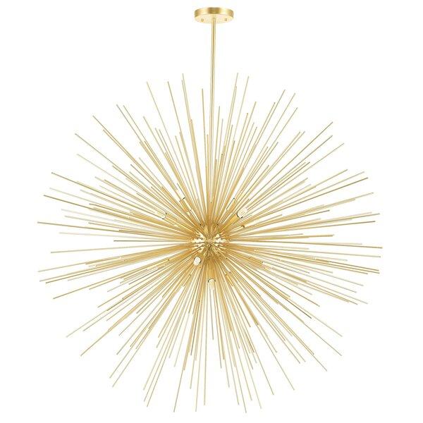 Savannah 14-Light Sputnik Sphere Chandelier By CWI Lighting