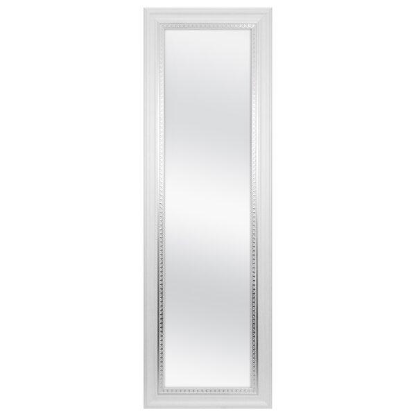 Farmhouse Over Door Woodgrain Full Length Wall Mirror by MCS Industries