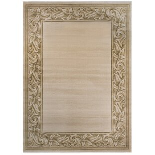 Great Price Buse Beige Area Rug By Fleur De Lis Living