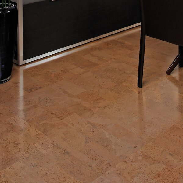 12 Cork Flooring in Aphrodite Natural by APC Cork