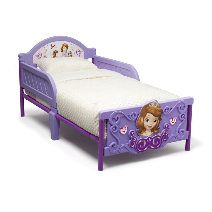 Jr Sofia The First 3D Plastic Toddler Bed
