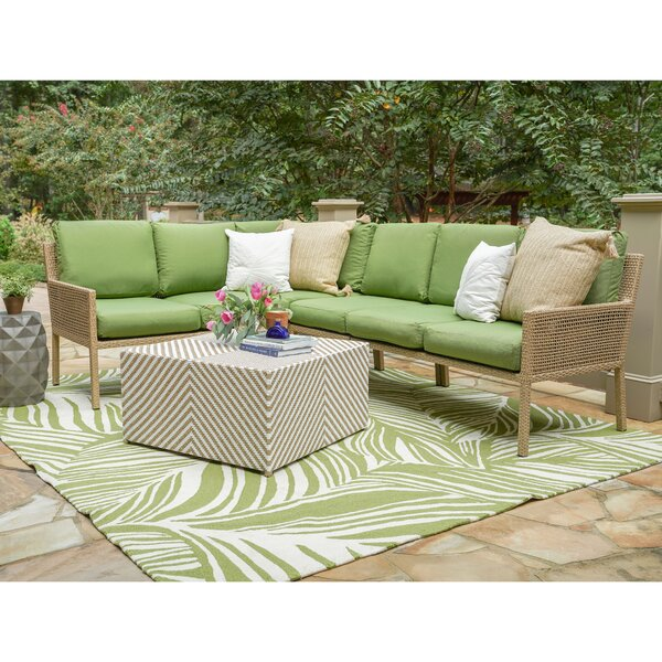 Mila 5-Piece Sofa Seating Group with Cushions by Bayou Breeze