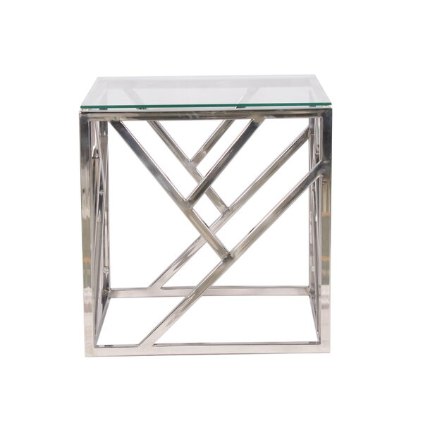 Wimbledon Side Table by Orren Ellis Orren Ellis