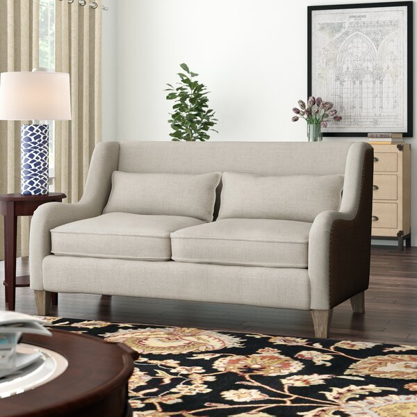 2 Toned Sofa by Elle Decor