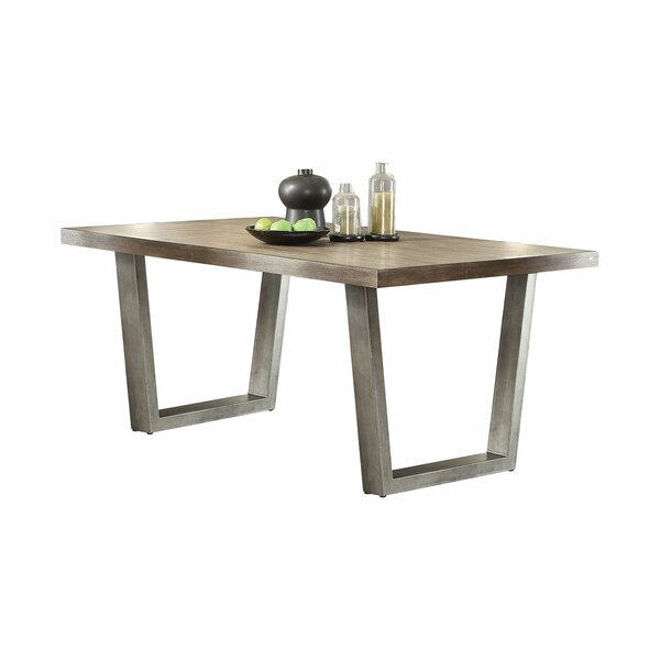 Emeline Dining Table by 17 Stories