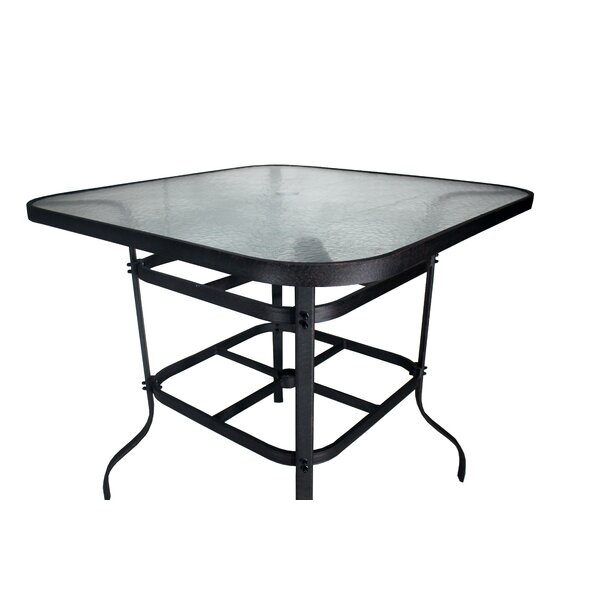 Isola Aluminum Top Bar Table by Darby Home Co