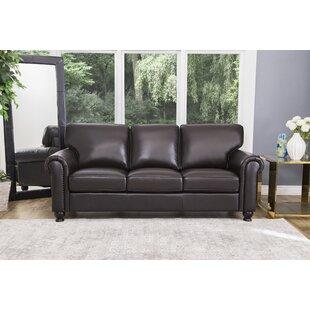 Coggins Genuine Leather Sofa