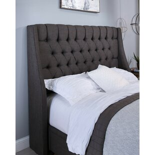 Best Difranco Upholstered Wingback Headboard ByDarby Home Co
