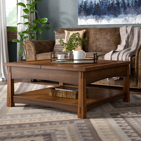 Rexford Lift Top Coffee Table by Loon Peak