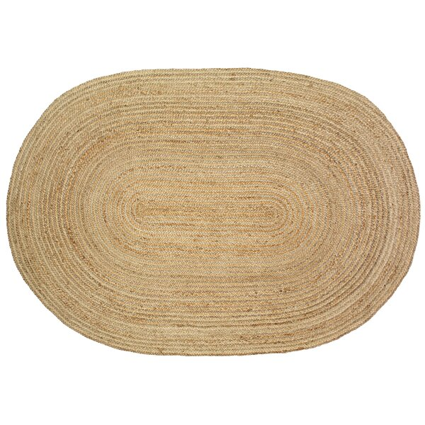 Jute Natural Area Rug by Birch Lane™