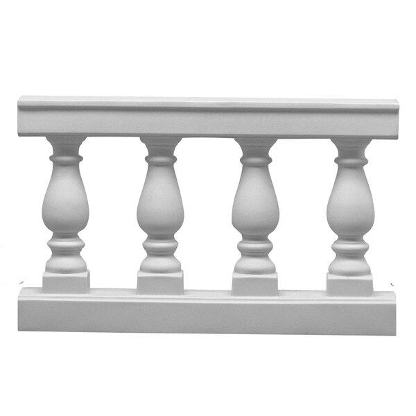 Sharp Balustrade Pedestal by Astoria Grand