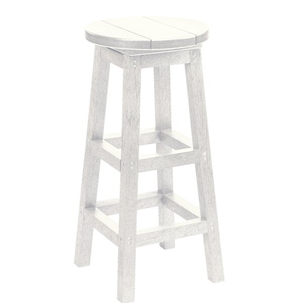 Alanna 31 Patio Bar Stool by Beachcrest Home