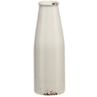 Ceramic Milk Bottle Shaped Table Vase